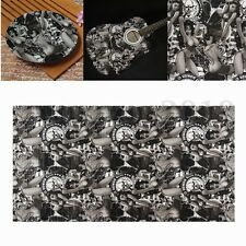 Water Transfer Printing Film Hydrographics Hydro Dipping Sexy Woman Black 0.5*2m