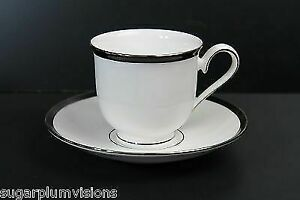 Lenox Leigh Cup and Saucer Debut Collection