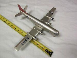 VINTAGE TIN AIRPLANE PLANE MATS USAF MILITARY AIR TRANSPORT SERVICE PARTS REPAIR