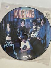 New Kids on the Block No More Games The Remix Album Picture Disc UK Vinyl RARE
