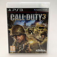 Call of Duty 3 | Sony Playstation 3 PS3 | Complete CIB | Mint Condition