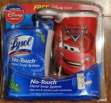 Lysol No Touch Automatic Hand Soap Dispenser w/ Refill Aloe Scent