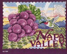 DMC #9049 NAPA VALLEY Chart 1996 Counted Cross Stitch Single Pattern 96Wx70H