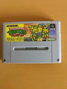 Teenage Mutant Ninja Turtles: Turtle in Time Super Famicom SFC Konami Japan