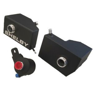 2005-2010 Ford Mustang GT500 Shelby Extreme Duty Coolant Reservoir Tanks BLACK