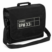 33 RPM STEREO RECORD BAG-AUDIOFILI Retrò Vinile LP per DJ, Regalo di Natale lui DAD