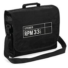 33 RPM Stereo Record Bag - Audiophile Retro Vinyl LP DJ, Christmas Gift Him Dad
