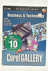 Corel Gallery Business & Technology (Windows 95 / 98 / NT) Clip Art Graphics