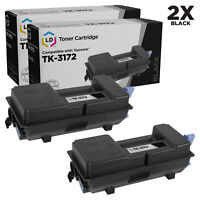 LD Compatible Kyocera TK-3172 (1T02T80US0) Black Toner 2-Pack for ECOSYS P3050dn