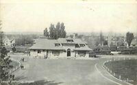 C-1910 Railroad Depot Payette Idaho postcard 8901