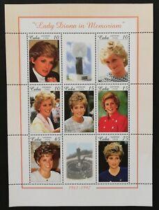 Caribbean,Princess Diana-1 M/Sh,MNH,,CU174/L