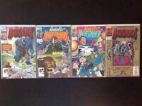 Nightstalkers 3, 5, 6, 12 Marvel Comics Punisher