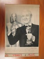 Vintage AP Wire Press Photo Actor Jimmy Stewart 57th Annual Academy Awards