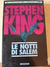 Stephen KING - LE NOTTI DI SALEM Bompiani Grandi Tascabili (1995)  Horror N°64