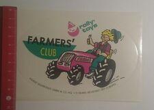 Aufkleber/Sticker: Farmers Club rolly toys (03121693)
