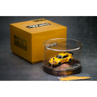 PGM 1:64 Scale Porsche RWB 964 911 Deluxe Edition Car Model w/Base NEW