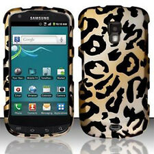 For Samsung Galaxy S Aviator R930 Rubberized HARD Case Phone Cover Cheetah