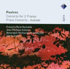 Francis Poulenc - Poulenc: Concertos for Two Pianos, Piano Concerto, Aubade [CD]