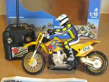 Taiyo R/C Mini Suzuki RM250 Motocross Motorcycle Radio Control Gyro Technology