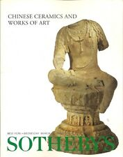 SOTHEBY'S Chinese Ceramics Jade Furniture Snuff Bottles Auction Catalog 2000