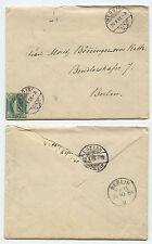 21950 - Brief - Weggis 22.10.1886 über Luzern nach Berlin - mit Inhalt