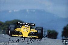 """FORMULA 1 Driver ARTURO MERZARIO Firmato a Mano Foto Autografo 12x8"""" AE"""