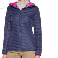 Columbia Womens Powder Lite Light Hooded Jacket Size M RRP£100 Box74