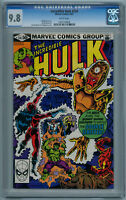 THE INCREDIBLE HULK #259 (May 1981) 9.8 NM/MT (CGC) White Pages