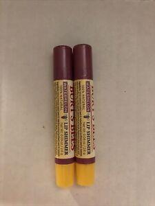 2X Burt's Bees 100% Natural Moisturizing Lip Shimmer, Watermelon NEW Sealed B29