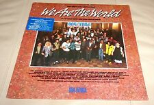 We Are the World Sealed LP 1985 Columbia w/ Prince Michael Jackson Tina Turner