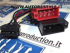 Cavo ISO adattatore radio autoradio Kenwood da 16 pin 21,7×9,5 mm KDC KRC DPX