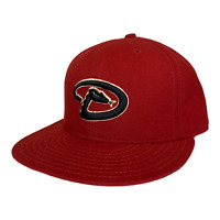 Arizona Diamondbacks New Era 59FIFTY MLB On Field Cap Made in USA Hat Size 7 1/2