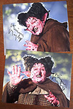 MIRIAM MARGOLYES 2x SIGNED 10x8 PHOTOS Harry Potter DOCTOR WHO Merlin