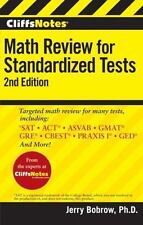 CliffsNotes Math Review for Standardized Tests, 2nd Edition CliffsTestPrep