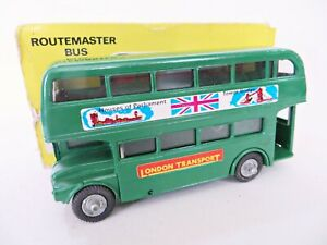 BUDGIE 236 'AEC ROUTEMASTER BUS #9 PICCADILLY, LONDON TRANSPORT' MIB/BOXED.
