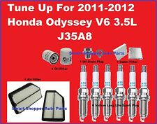 Tune Up 2011-2012 Honda Odyssey Spark Plug, Air, Cabin, Oil Filter, Oil Drain Pl