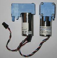 2 X Mini Diaphragm Single Head Air and Gas Hargraves Pump - 6 l/min - 12 V DC