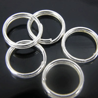 Silver Plated Split Rings 4mm, 6mm, 8mm, 10mm x 200 pack