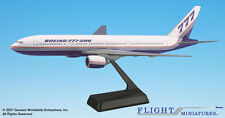 Flight Miniatures Boeing 777-200 House Colors 1981 Demo Livery 1:200 Scale New