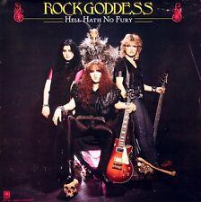 Rock Goddess 1984 Hell Hath No Fury Original Promo Poster
