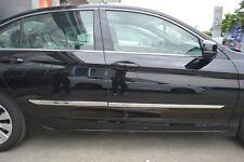 Chrome Body door Side Molding trim For Honda Accord Sedan 2013 2014 2015 2016