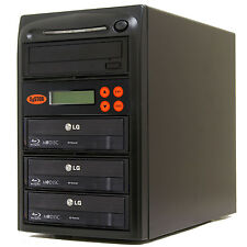 3 Burner Blu Ray CD DVD 16X Duplicator Copier M-Disc Multi Duplication Copy BD