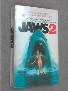 Jaws 2 by Searls, Hank Paperback Book The Fast Free Shipping