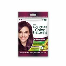 10 x Garnier Color Naturals Crème Riche Sachet, Shade 3.16, Burgundy