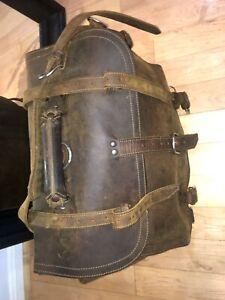 Saddleback Old Generation 2-Rivet Suede Lined Briefcase (RARE)