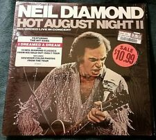Neil Diamond - Hot August Night II 2xLP in shrink w/sticker 1987 Strong VG+