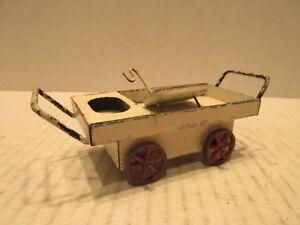Marklin White Tin Cart Made In Germany Jos. Moog Koln Passage 38/46