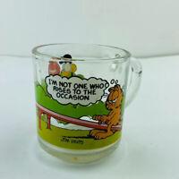 Mcdonalds Garfield Coffee Mug 1978 Rare Vintage Shot Glass Coffee Mug Cup USA