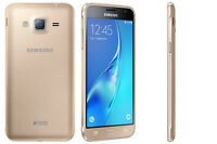 BRAND NEW SAMSUNG GALAXY J3 6 DUAL SIM *4G LTE* 8GB SMART PHONE GOLD UNLOCK 2016