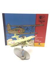 En Avion Tintin l'avion de chasse arabe cigares des pharaons  N33 + livret